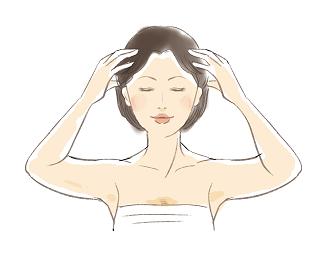 お顔は頭皮と繋がってた!ハリツヤを取り戻す頭皮マッサージの方法