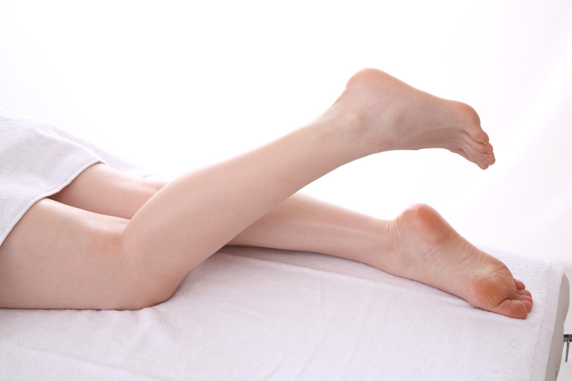 簡単脚痩せ方法!足の指体操