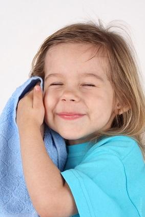 ベビー肌を作る!顔の洗い方
