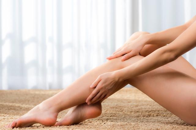 代謝がアップする足指マッサージ