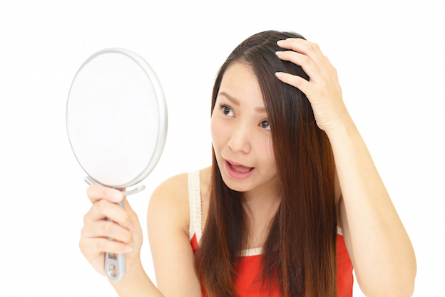 頭頂部 の 薄毛 を 改善 する マッサージ
