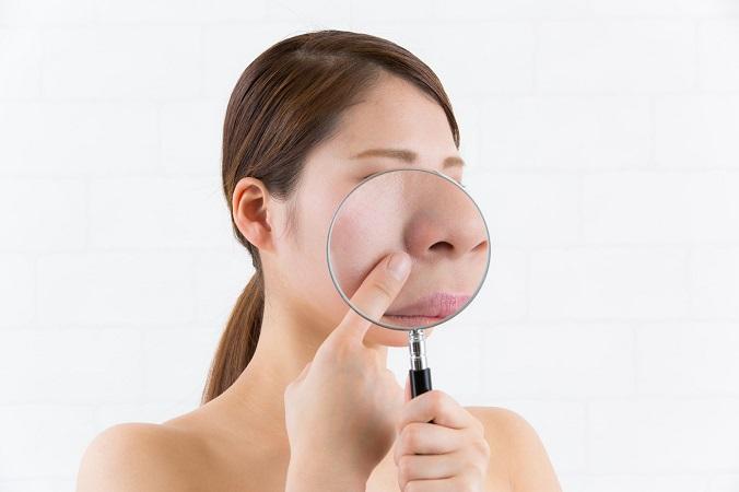 少しの手間でできる小鼻の黒ずみをとって美肌美人に!