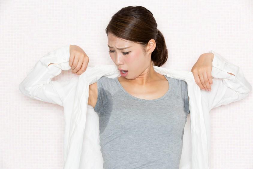 おすすめの脇汗対策