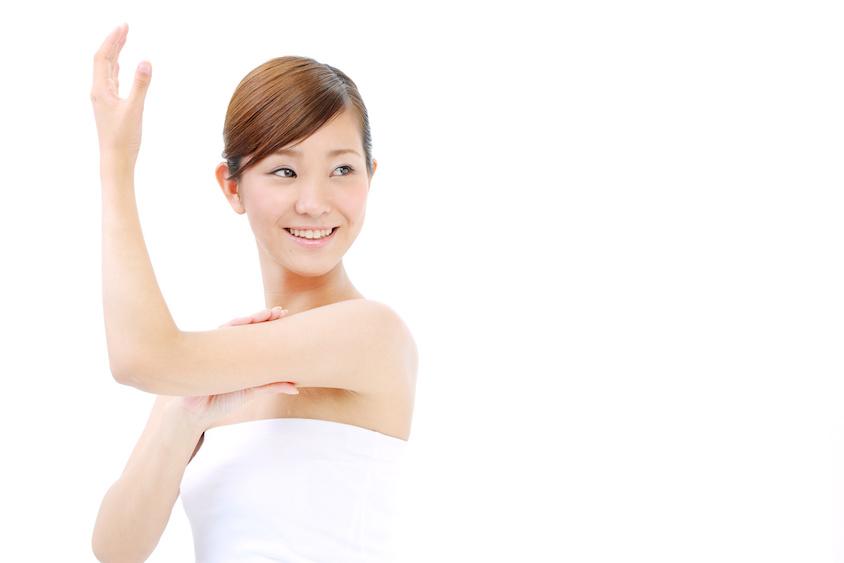 腕の肉を落とすエクササイズ