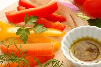 パプリカの栄養が半端ない!赤や黄色で成分が違う!