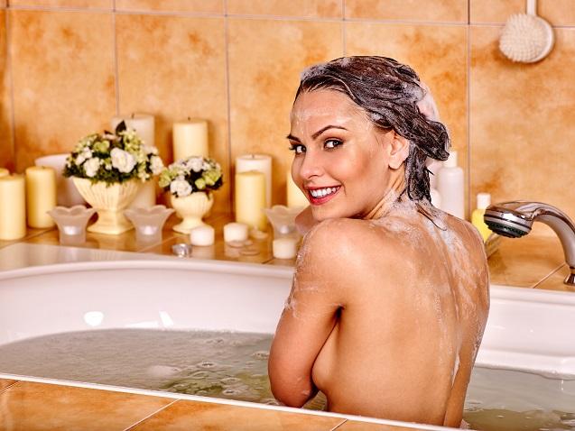 バストアップのために!お風呂で気をつけるべきこと!!