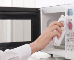 電子レンジの気になる臭いをスッキリ取る5つの食品と取り方