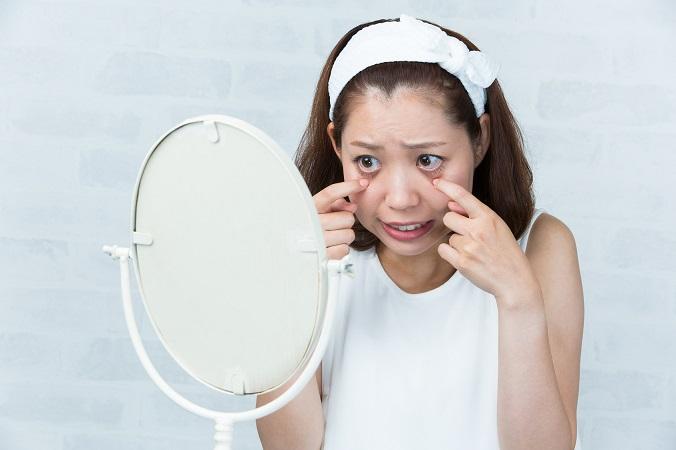 病気が潜んでいるかもしれない目の充血の原因と対処法