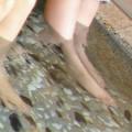 超お手軽♪ 足湯 で むくみ 解消 をして 美脚 に